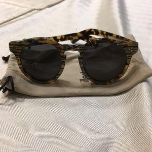 Illesteva Leonard II Patterned Sunglasses